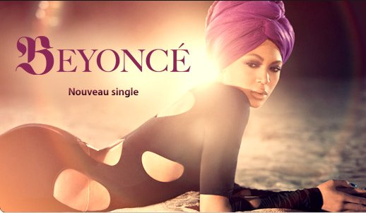 Photo promotionelle de Beyoncé sur Itunes !