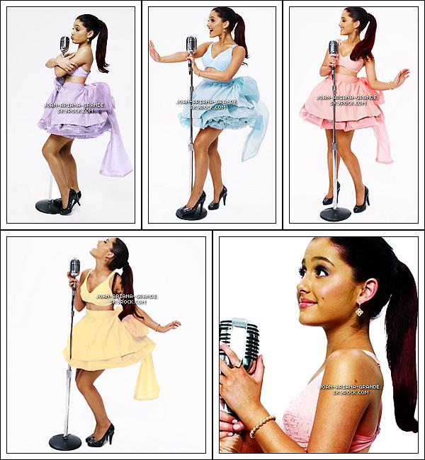 . Découvrais des photo d'Ariana pour le nouveau Victorious. .