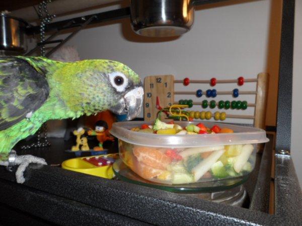 Cinq fruits et légumes par jour!!!