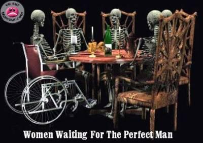 Ne cherche pas l'homme parfait
