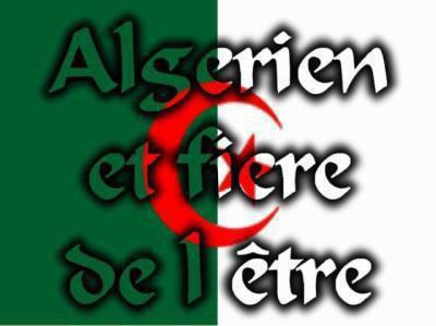 algérien et fiér