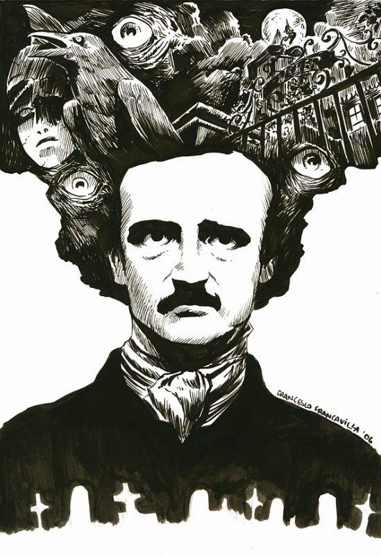 Muse Extraordinaire (d'après Edgar Allan Poe)