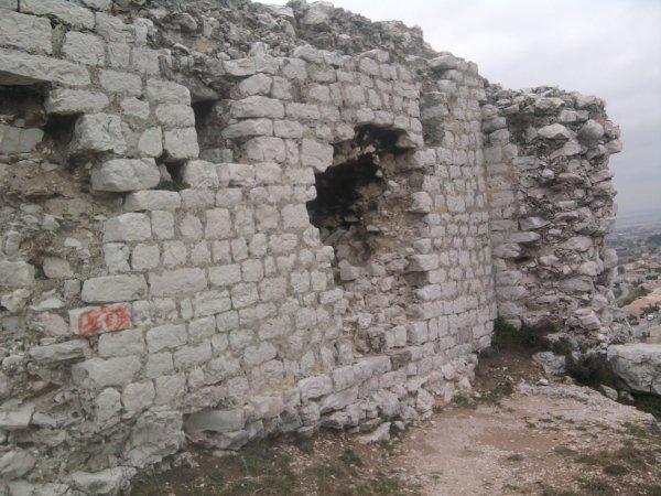 ruine de chateau des templiers