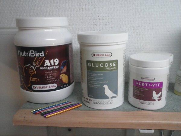 produit utilise pour prepare mes oiseaux
