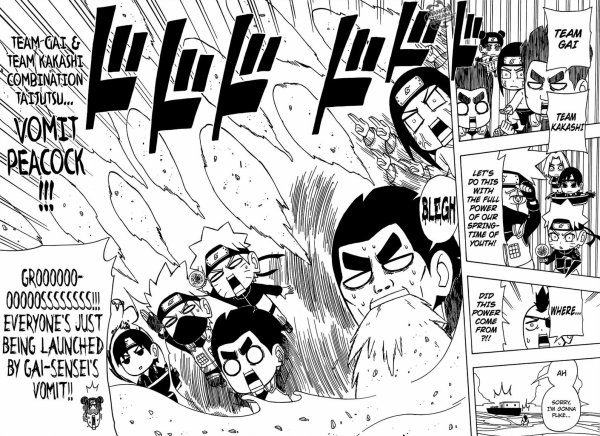 le manga Rock Lee