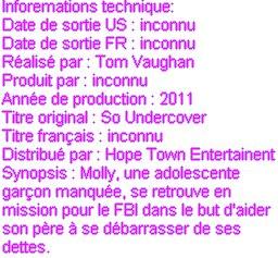 Spécial noël:Suis Miley sur le tournage du film so undercover!!!(part 1)