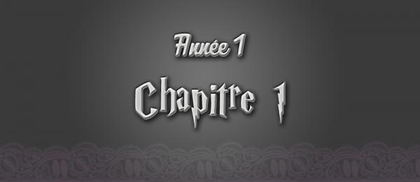 [Année 1] - #Chapitre 1