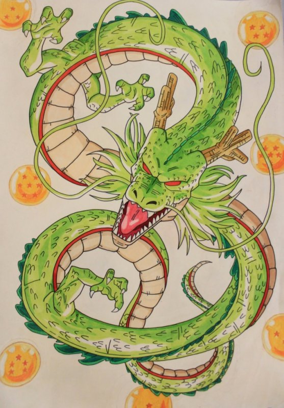 Shenron - Dragon Ball.