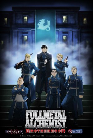 Full metal alchemist :  Brotherhood.