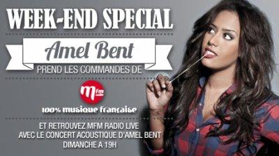 Week-end spécial Amel sur MFM radio !