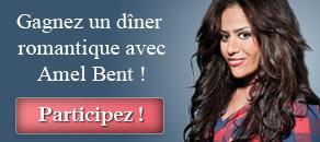La St-Valentin approche, gagnez votre dîner avec Amel Bent !