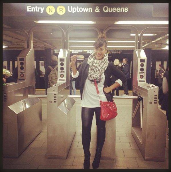 """Amel est à New York City pour le tournage du clip """"Délit""""!"""