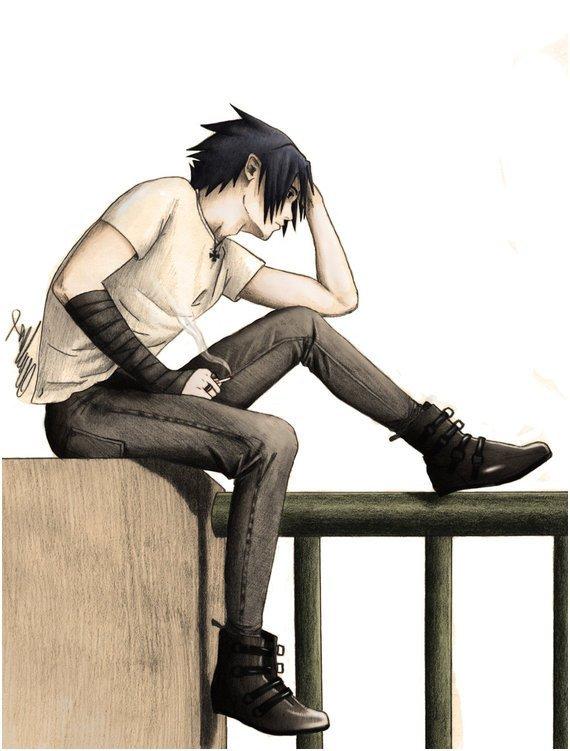 Fic:Le retour de Sasuke dans ma vie... ~