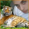 mon homme et son tigre lol