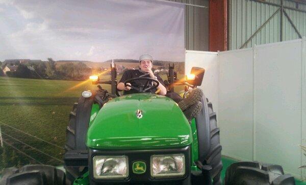Kan on fai le con sur un tracteur
