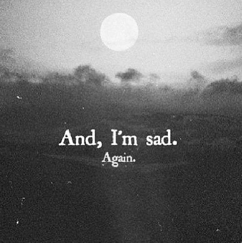 Sadness ...
