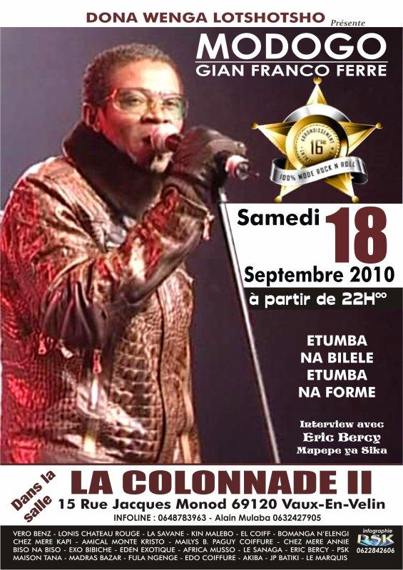 MODOGO GIAN FRANCO FERRE, 16 Arrondissement à Lyon le 18/09/2010