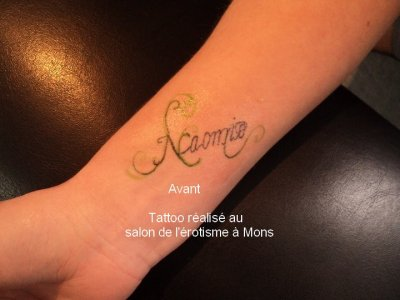 Rattrapage d'un tattoo foiré!