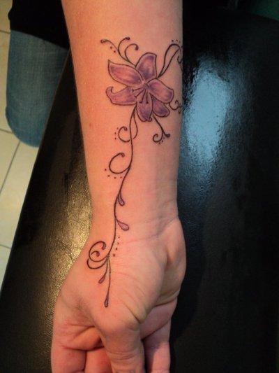 Fleur et arabesques pour mademoiselle Fauve