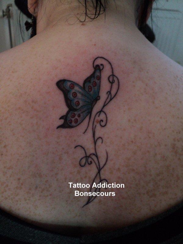 Papillon + arabesques
