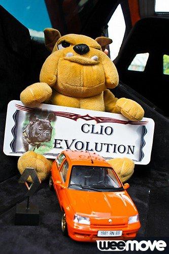 LA CLIO EVOLUTION SUR WEEMOVE.