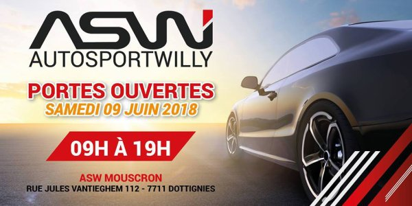 PORTES OUVERTES A AUTO SPORT WILLY 2018.