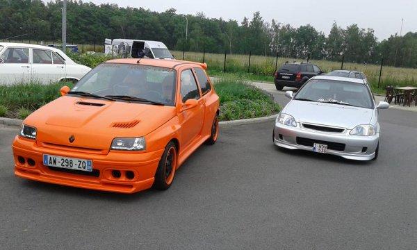 LA CLIO EVOLUTION 2 CHEZ AUTO SPORT WILLY.