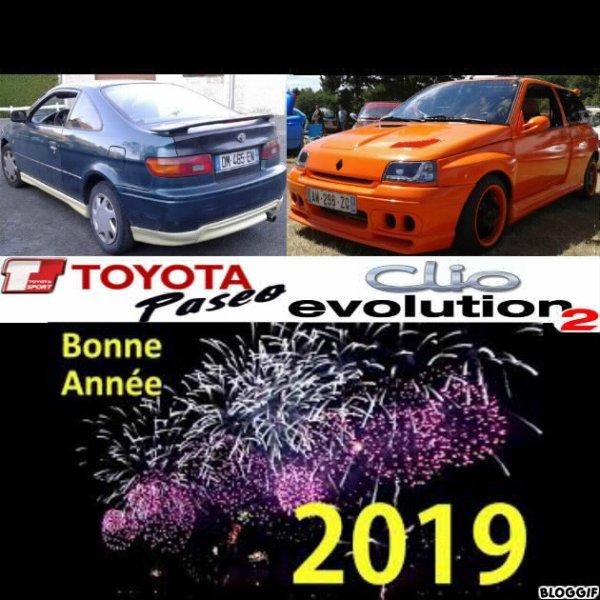 BONNE ANNEE 2019.