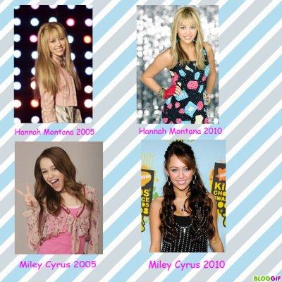Miley Cyrus = Hannah Montana