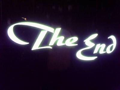 C'est la fin ...