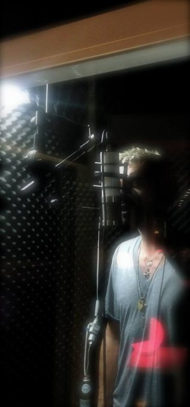 Bill in the booth