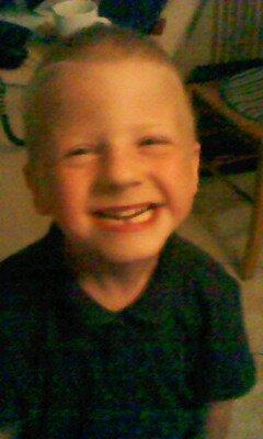 mon fils waren agee de 6 ans