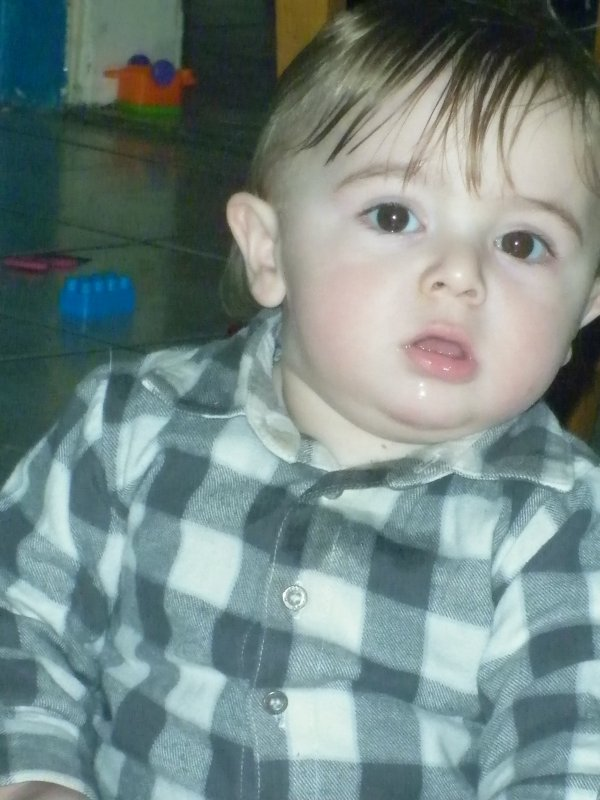 mon fils lorenzo 1 ans