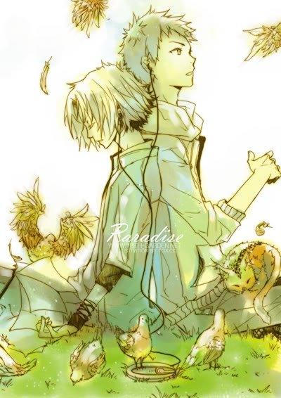 Gokudera x Yamamoto du manga Reborn  Spécialement pour Todrawdrewdrawn ;)