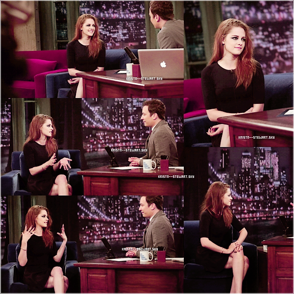 Le 11.7.12 - C'est une magnifique Kstew que l'on retrouve au Today Show & Late Night With Jimmy Fallon           Je la touves SUBLIME ! Elle est superbe ! Sur tout au Late Night With Jimmy Fallon . Top/flop ?!
