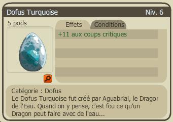 1er Achat de dofus turquoise