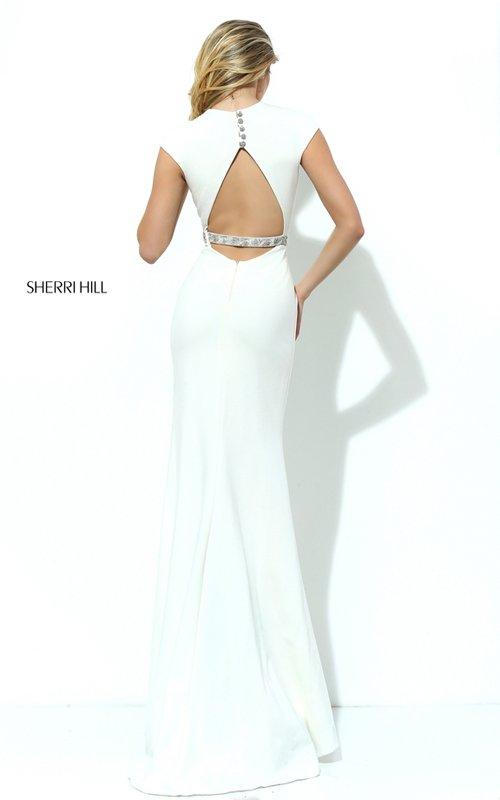 Sherri Hill 50646 Crystal Open Back Dress 2016