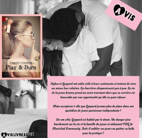 Play & Burn Tome 6 de Fanny Cooper