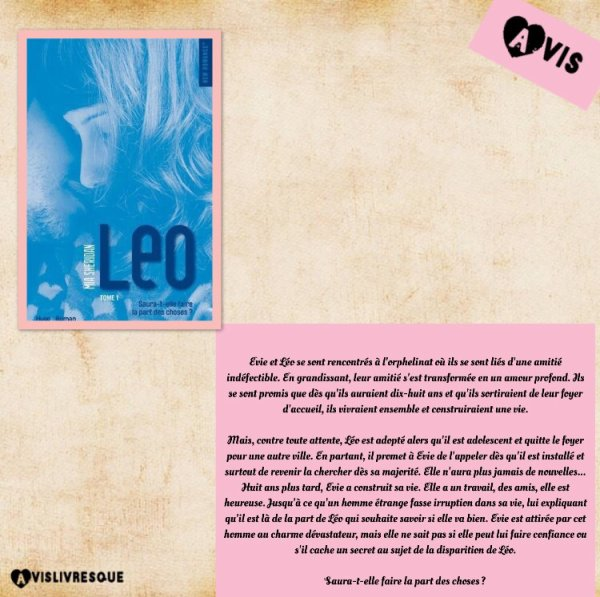 Leo : Tome 1 de Mia Sheridan