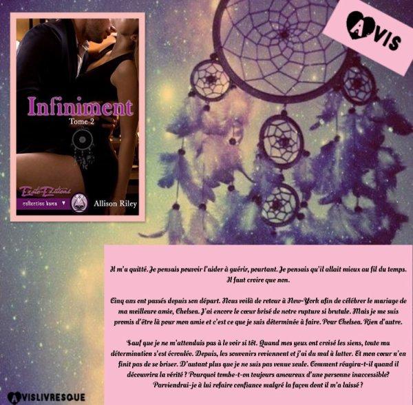 Infiniment : Passionnément Tome 2 d'Allison Riley