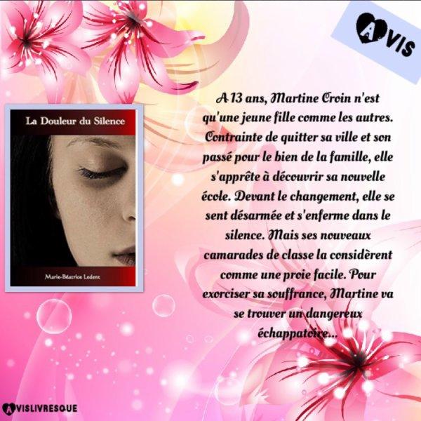 La douleur du silence de Marie-Béatrice Ledent