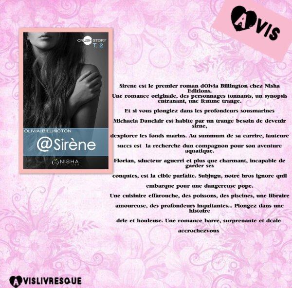 @Sirene d'Olivia Billington