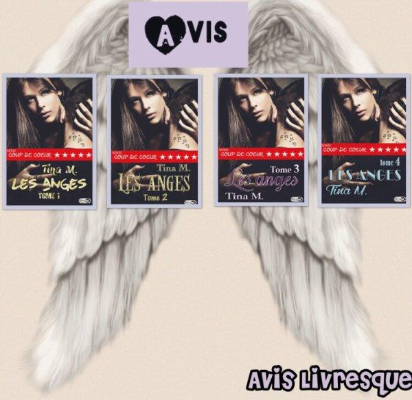 Les Anges Tomes 1 à 4 de Tina M