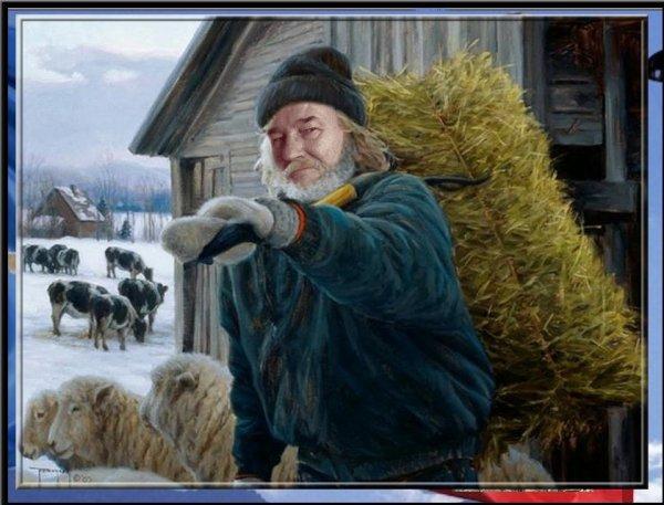 Un vrai fermier mon copain Néné