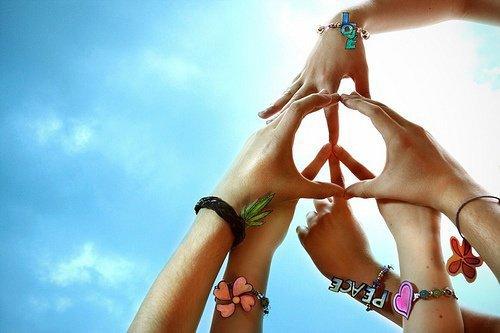 Peace pendans les vacances