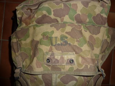 Sac Pack jungle US  modèle 1942 camouflé
