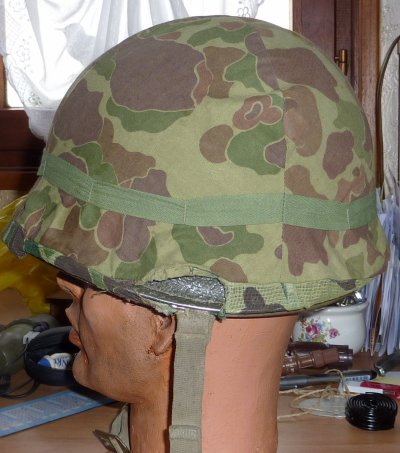 Couvre casque moustiquaire  camouflé USMC