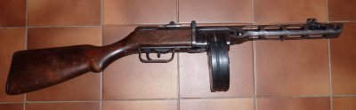 PPSH 1941 Russe