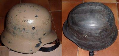 casque Luftwaffe Africa korps