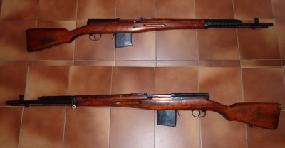 Fusil russe SVT 40
